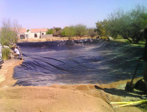 Reinforced PVC Dam Liner